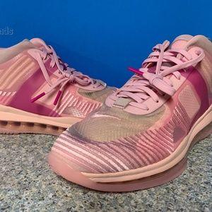 Nike Lebron X John Elliott Icon QS Men Sz 8.5 Pink